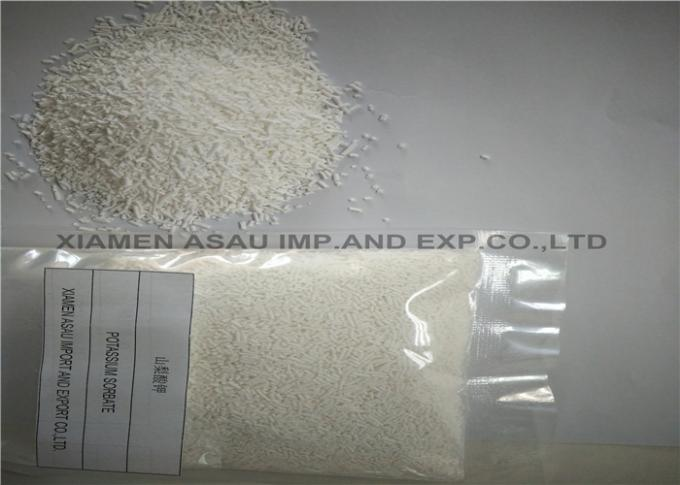 Purity Antimicrobial Food Additives , 2 4 Hexadienoic Acid White Granular / Powder